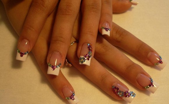 картинки ногтей нарощенных