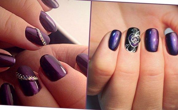 дизайн ногтей дома фото