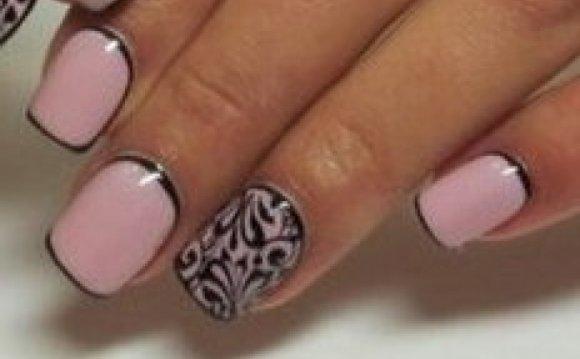 Летние рисунки на ногтях