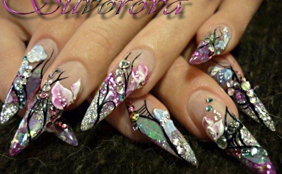 Дизайн на натуральных ногтях