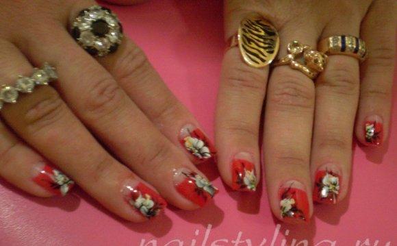 Рисунки на ногтях. Весна 2012